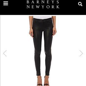 J Brand leather pants